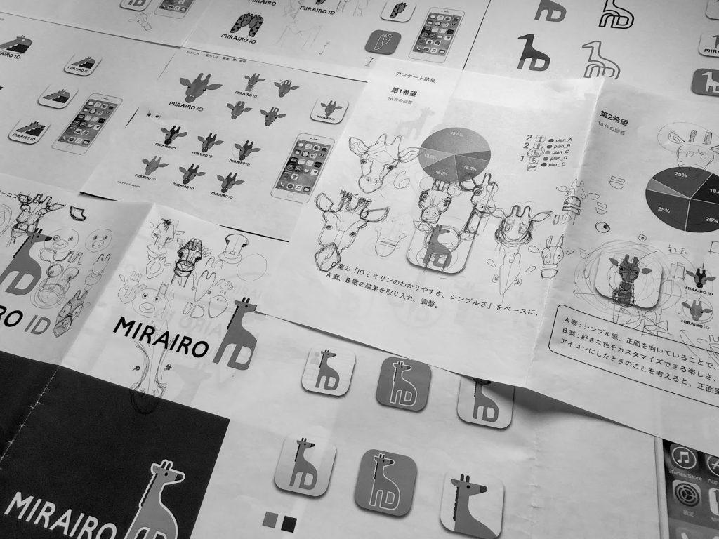 写真 ミライロIDのロゴ案